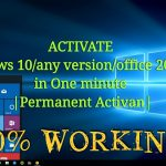 Activate Windows 10any versionoffice 201316 in One minute