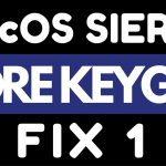 CORE KEYGEN MacOS Sierra FIX