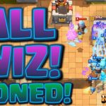 Clash Royale – ALL WIZARD DECK Electro Wizard Challenge
