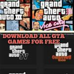 Download all GTA games in Android device for free