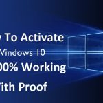 windows activation Lifetime