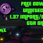 GTA 5 PC Online 1.37 MikesGTAH4x AMAZING Mod Menu Undetected