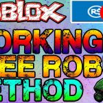 ?I JUST GOT TONS OF ROBUX FOR FREE? WITH PURCHASE