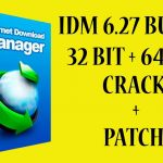 IDM 6 27 Build 3 Registered 32bit + 64bit Patch