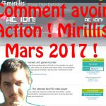 FR TUTO : COMMENT AVOIR ET INSTALLER ACTION MIRILLIS + SERIAL