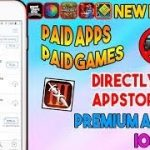 Apple ID with new paid apps , games free from app store iOS