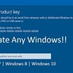 Activate any Windows 7 8 10 Easily Windows Product, Serial