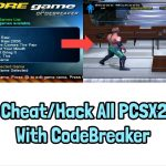 How To CheatHack All PCSX2 Games With CodeBreaker