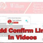 How to Add Confirm Subscription Youtube Channel link and get