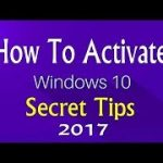 easy way to activate windows 10 full edition successfully