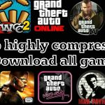 5MB Download All Highly Compressed Game like GTA SanAndreas