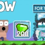 How To Make GEM DONATION Growtopia