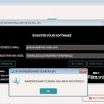How to get Wondershare Filmora serial key for free