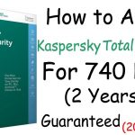 How to activate Kaspersky Total Security for 2 Years (2017 to