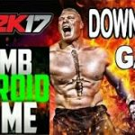 How to download and install WWE 2k17 on android for free without
