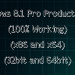 Windows 8.1 Pro Product Keys (100 Working) HD