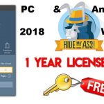 HMA Pro vpn Key License For 1 Year Android PC 2018 WORKING