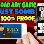 How to Download Any Game in Just 50MB With 100 Proof