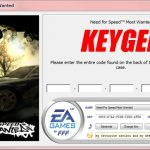 Need For Speed Most Wanted KEYGEN – SERIAL NUMBER – CD KEY