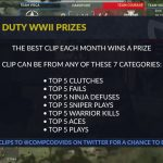 COD WW2: Top 5 of The Week Info With PRIZES