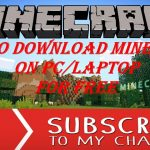 How to download minecraft for free on pc , no surveys neither