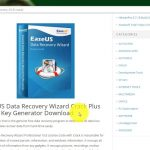 EaseUS Data Recovery Wizard Crack Plus Serial Key Generator