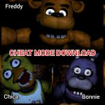 Five Nights at Freddys Cheat Mode Download