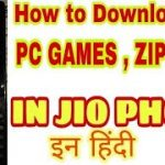 How to download PC games , zip files in jio phones .