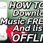How to download music and listen without wifi for free
