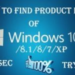 How to get your product key for Windows 78.1810