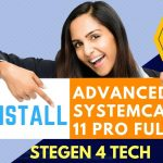 install Advanced SystemCare 11 Pro 2017 full