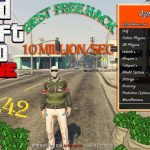 GTA 5 Online 1.42 Free Mod Menu w 11 Million