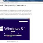 Windows 8.1 Product Key Plus Activator For All Editions 3264 Bit