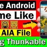 How to Create Game Like Temple Run In Thunkable Free AIA File