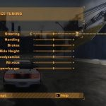 NFS Most Wanted – What Happens If You Select Too Low or High