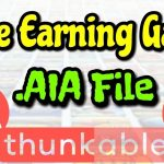 New game free aia file project download of Thunkable,gaming app