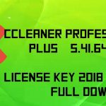 CCleaner Professional 5.41.6446 Serial key full Download