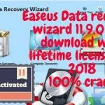 EASEUS DATA RECOVERY WIZARD 11.9.0 TECHNICIAN PRO FREE DOWNLOAD