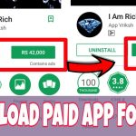 How to download paid app for free in play store without root