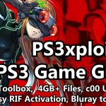 PS3xploit v3 PS3 Games: HAN Toolbox, 4GB+ Files, Easy RIF