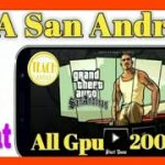 Download gta San andreas in 200mb for all GPU with Cleo cheat