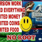 HOW TO HACK JURASSIC WORLD THE GAME V-1.19.0 NO ROOT