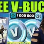 【100 FREE】JUST UPDATE Free V Bucks 2018🎮Fortnite