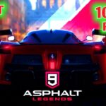 Asphalt 9 download with parts and full installations for android