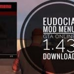 GTA 5 PC Online 1.43 Mod Menu – Eudocia 1.3 wInternal Hack