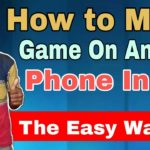 How To Make App On Android Phone Free.