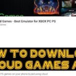 How to download Gloud Games app from Playstore