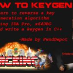 How to make a Key Generator KeyGen Tutorial