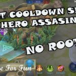 CARA CHEAT COOLDOWN ALL HERO ASSASSIN – Mobile Legends Indonesia