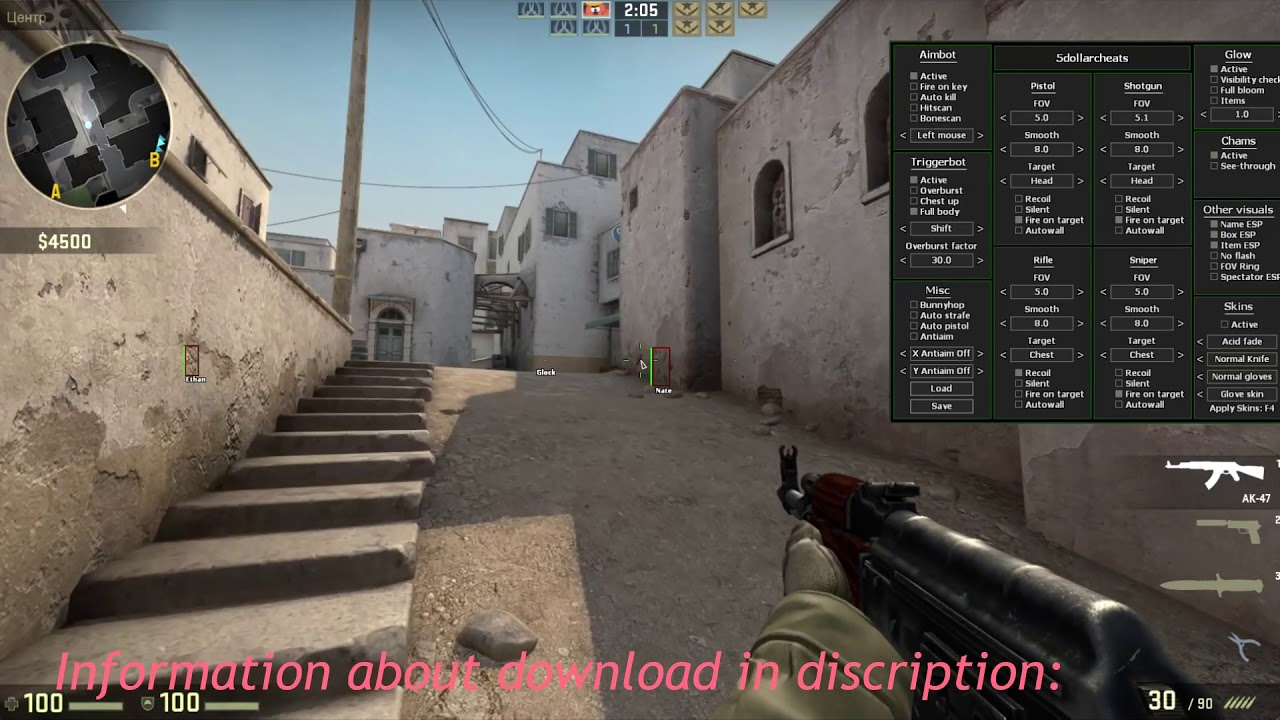 free csgo aimbot no sign in